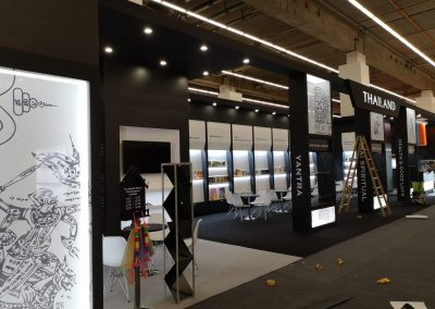 Frankfurt Bookfair 2019 - Thailand Pavilon - 144 sqm